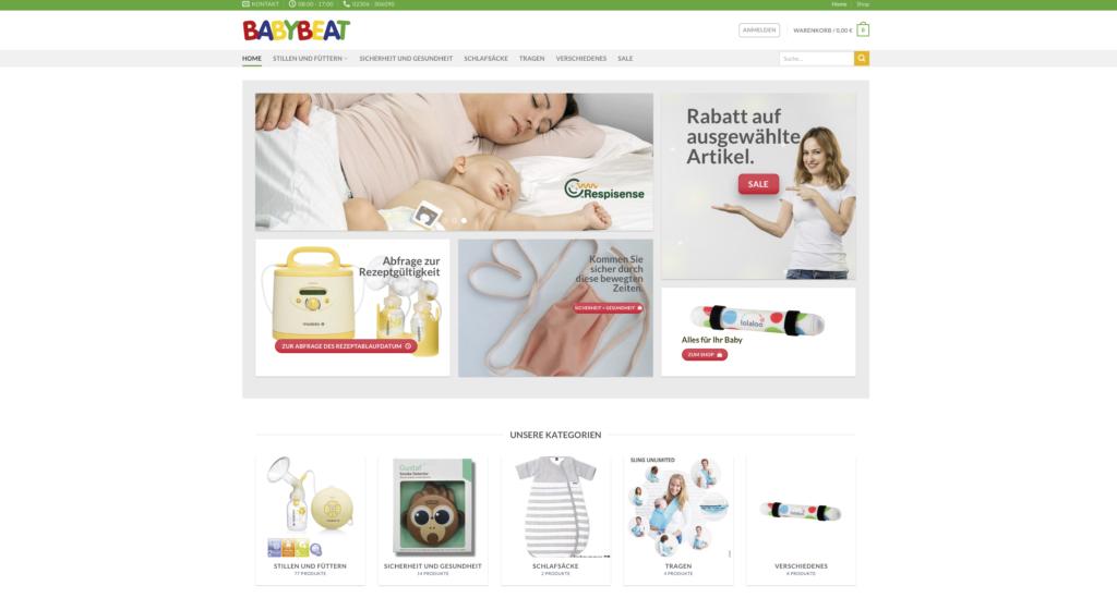 Babybeat-Shop - Shop für Medizinprodukte 2020 - www.babybeat.de
